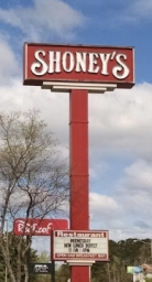 Shoney sign